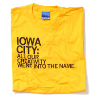 Iowa City Name T-Shirt