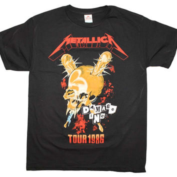 Metallica Tour '86 T-Shirt Medium