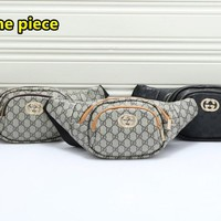 Gucci Trendy simple versatile printed waist bag chest bag
