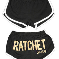 Set It Off Ratchet Bootie Shorts