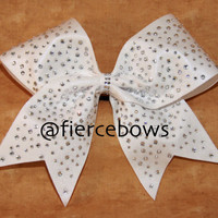 Ice Princess Cheer Bow