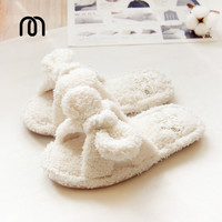 Millffy fluffy fluff summer home slippers indoor home plush slippers cute female floor slippers woman kawaii shoes