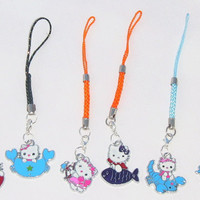 Hello Kitty Cellphone Charms with FREE Shipping in the U.S.