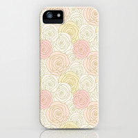 Flower Me iPhone & iPod Case by Pink Berry Pattern