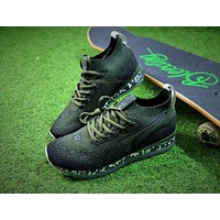 PUMA Jamming Cushion Forest Night Trainer Men Green Shoes