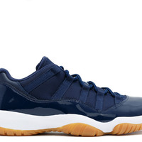 "air jordan 11 retro low ""navy gum"""
