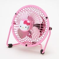 Hello Kitty Mini Metal USB Fan Pink Kawaii Compact SANRIO Japan Gift F/S