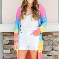 Spring Into Color Cardigan