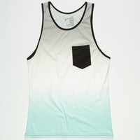 Blue Crown Blue Skyz Mens Tank White  In Sizes