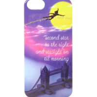Disney Peter Pan Second Star iPhone 5/5S Case