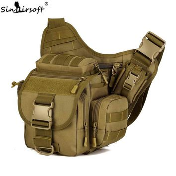 SINAIRSOFT Outdoor Sport Climbing Hiking Bags Camera bag Multifunctional Men Nylon Messenger Bag Military Tactical Camping bags