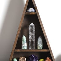 Tall Contemporary Triangle shelf