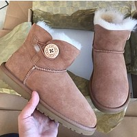 UGG authentic mini Bailey button boots