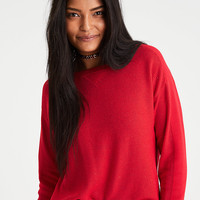 AEO Layer-Perfect Lightweight Sweater, Red
