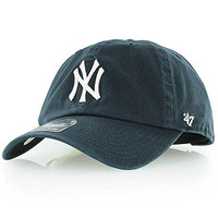 New York Yankees Relaxed-FIT Adjustable Clean Up Baseball Cap by 47 Brand