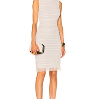 Givenchy Sleeveless Tulle Dress in White   FWRD
