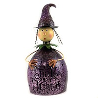 Halloween Halloween Figure W LED Light Cat Witch Luminary - 32733-869-866 WITCH