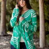 Quest For The Best Cardigan-Jade