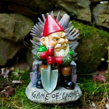 Game of Gnomes Garden Gnome - Game of Thrones Inspired Garden Gnome - PRE-ORDER, Ships Mid-May