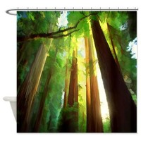 Majestic Shower Curtain> Landscape/Nature> Tropical Design Studio