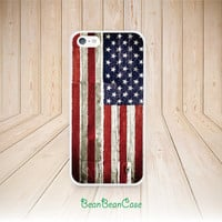 Vintage retro American wood USA flag case for iPhone, Samsung S5/Note4, Sony, LG Nexus, Nokia Lumia, HTC One M7/M8, Moto (N21)