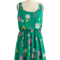 The Bee's Peonies Dress | Mod Retro Vintage Dresses | ModCloth.com