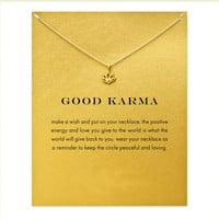 Good Karma Lotus Necklace