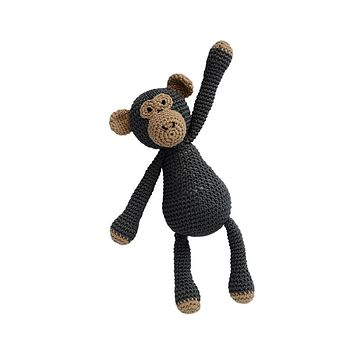 FOTH...CROCHET little Bigfoot MONKEY - YouTube | 354x354