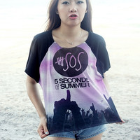 5 Seconds of Summer - 5SOS Women & Girl Shirt T-Shirt Chic Style Summer Fashion