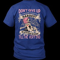 Fairy Tail - DON'T GIVE UP Natsu Dragneel - Men Short Sleeve T Shirt - TL01128SS