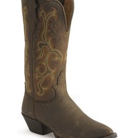 Justin Stampede Western Cowgirl Boots - Sheplers
