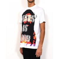 Indie Designs Givenchy Inspired Jesus Is Lord Printed T-shirt