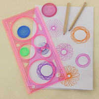 Spirograph Multifunctional Geometric Ruler Drafting Tools Stationery Students Office Supplies 1pcs