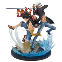 ONE PIECE Figuarts-Zero Non Scale Figure : Monkey D Luffy & Trafalgar Law (5th Anniversary Edition)