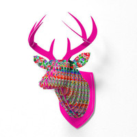 DENY Designs Home Accessories   Lisa Argyropoulos Inspire Victoriana Faux Deer Mount