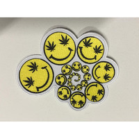 Smiley Spiral Patch