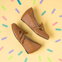 Suits You to a Teach Wedge in Cognac