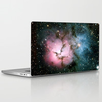 Nebula bright stars galaxy hipster geek cool space photograph  Laptop & iPad Skin by iGallery