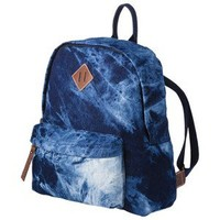 Mossimo Supply Co. Acid Wash Denim Backpack - Blue