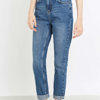 BDG Vintage Dark Blue Mom Jeans - Urban Outfitters