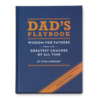 DAD'S PLAYBOOK | Sports Quote Parenting Advice | UncommonGoods