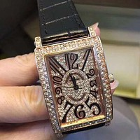 Franck Muller  Women Fashion Quartz Watches Wrist Watch