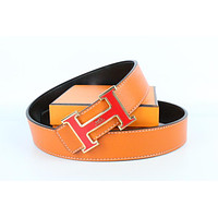 Hermes belt men's and women's casual casual style H letter fashion belt422