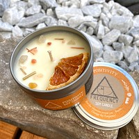 Positivity Soy Candle - Crystal Infused