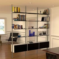 3-Bay DIV Series Room Divider - 99""
