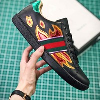 Gucci Ace Embroidered Low Top Sneakers Style 3 - Best Online Sale