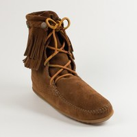 DOUBLE FRINGE TRAMPER BOOT | Minnetonka Moccasin
