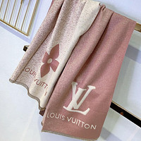 Louis Vuitton LV Women Fashion Tassel Cashmere Cape Scarf Scarves Shawl