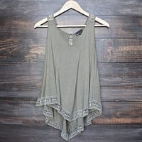 Soft Boho Tank Top in More Colors