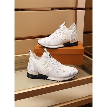 Louis Vuitto  Men Fashion Boots fashionable Casual leather Breathable Sneakers Running Shoes0519gh